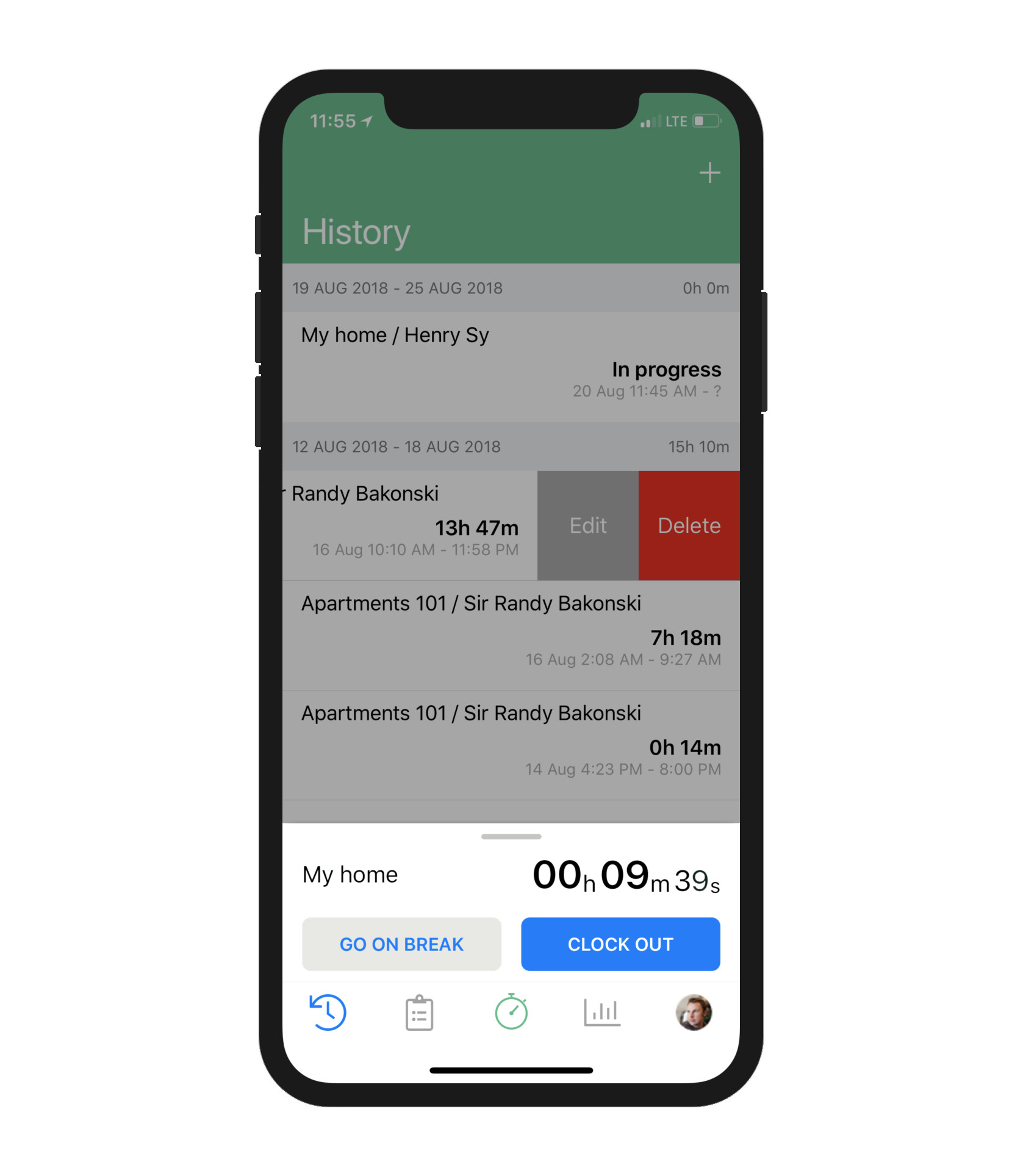 Timesheets by Veryfi app: employee tracking & scheduling